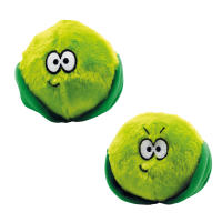 Happy Pet Bad Manner Brussel Sprouts Christmas Dog Toy