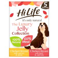 HiLife Its Only Natural Luxury Jelly Collection Wet Dog Food