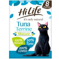 HiLife Its Only Natural Tuna Terrine Wet Senior Cat Food
