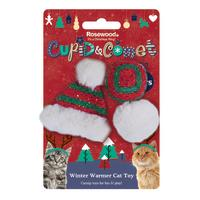 Rosewood Christmas Winter Warmer Cat Toy