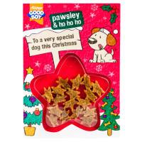 Good Boy Dog Meaty Treats Christmas Card