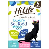 HiLife Its Only Natural Luxury Seafood Platter in Jelly Adult Cat Food