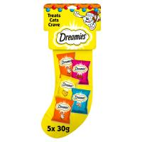 Dreamies Christmas Stocking Cat Treat
