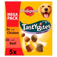 Pedigree Tasty Bites Chewy Cubes Adult Dog Treats