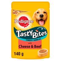Pedigree Tasty Bites Cheesy Nibbles Adult Dog Treats