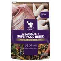 Billy & Margot Wild Boar & Superfood Dry Adult Dog Food