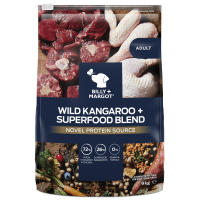 Billy & Margot Wild Kangaroo and Superfood Blend Dry Adult Dog Food