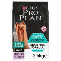 PRO PLAN OPTIDIGEST Turkey Sensitive Digestion Grain Free Small & Mini Adult Dog Food