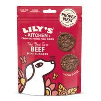 Lilys Kitchen Best Ever Beef Mini Burger Dog Treats