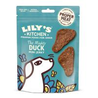 Lilys Kitchen Mighty Duck Mini Jerky Dog Treats