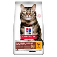 Hills Science Plan Mature Adult Hairball & Indoor Dry Cat Food Chicken