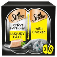 Sheba Perfect Portions Chicken in Pate Wet Adult Cat Food