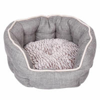Dream Paws Reversible Cushion Cosy Dog Bed