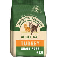 James Wellbeloved Grain Free Turkey Adult Cat Food