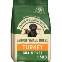 James Wellbeloved Grain Free Turkey & Vegetable Small Breed Senior Dog Food