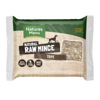 Natures Menu Minced Tripe Raw Frozen Dog Food
