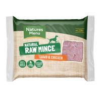 Natures Menu Minced Lamb & Chicken Raw Frozen Dog Food