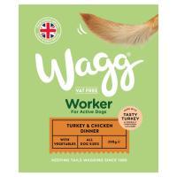 Wagg Worker Turkey & Chicken Wet Dog Food