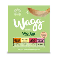 Wagg Worker Variety Multipack Wet Dog Food