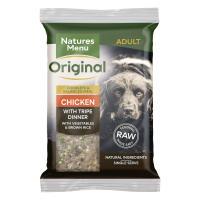Natures Menu Complete Chicken & Tripe Raw Frozen Mince Dog Food