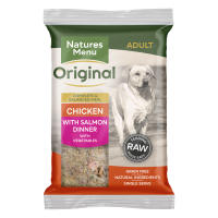 Natures Menu Complete Chicken & Salmon Raw Frozen Mince Dog Food
