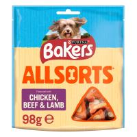 Bakers Allsorts Flavoured with Chicken, Beef & Lamb