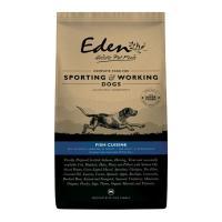 Eden 80/20 Working Dog Fish Cuisine Medium Kibble Dry Adult Dog Food