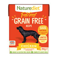 Naturediet Feel Good Grain Free Chicken Wet Adult Dog Food Cartons