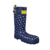 Joules Spotty Welly Boot Dog Toy