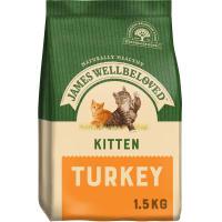 James Wellbeloved Turkey Kitten Food