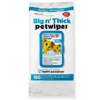 Petkin Big n Thick Pet wipes for Cats & Dogs