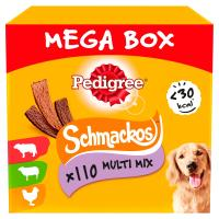 Pedigree Schmackos Meaty Variety Mega Box Dog Treats