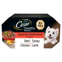 Cesar Country Kitchen Special Selection in Sauce Wet Adult Dog Food