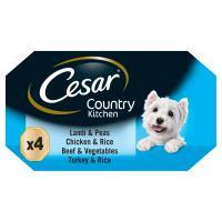 Cesar Trays Recipes Senior Dog Food