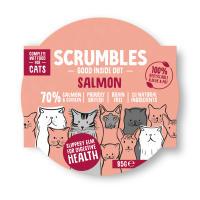 Scrumbles Grain Free Salmon Wet Adult Cat Food