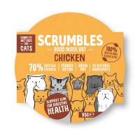 Scrumbles Grain Free Chicken Wet Adult Cat Food