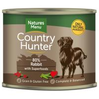 Natures Menu Country Hunter Rabbit Adult Dog Food Cans