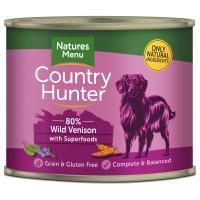 Natures Menu Country Hunter Venison Adult Dog Food Cans