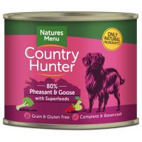 Natures Menu Country Hunter Pheasant & Goose Adult Dog Food Cans