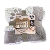 Rosewood Luxury Plush Blanket Grey