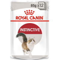 Royal Canin Instinctive Adult In Gravy Wet Cat Food Pouches