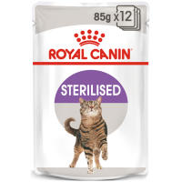 Royal Canin Sterilised Adult In Jelly Wet Cat Food Pouches