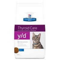 Hills Prescription Diet YD Thyroid Care  Dry Cat Food