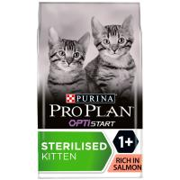 PRO PLAN OPTISTART Sterilised Salmon Dry Kitten Food