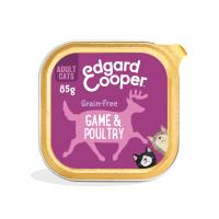 Edgard & Cooper Grain Free Game & Poultry Wet Adult Cat Food 85g x 57