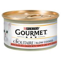 Gourmet Solitaire Duck in Sauce Cat Food