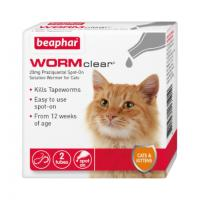Beaphar WORMclear Cat Worming Pipettes