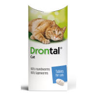 Drontal Worming Tablets for Small & Medium Cats