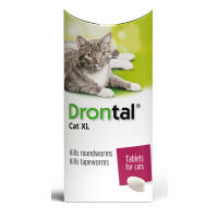 Drontal Worming Tablets for Large Cats Over 4kg