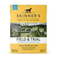 Skinners Field & Trial Chicken & Root Veg Wet Adult Dog Food